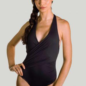 Sustainable swimsuit kellen black